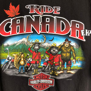 Ride Canada Harley-Davidson T Shirt